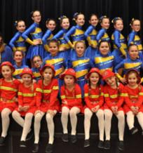 Mini- en Dansmariekes Groepsfoto 2017